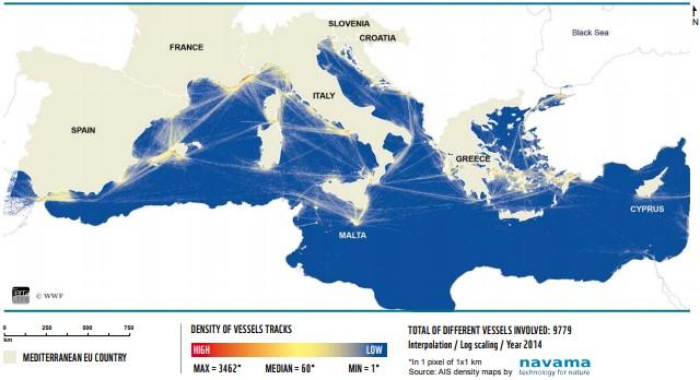 Posidonia - Map